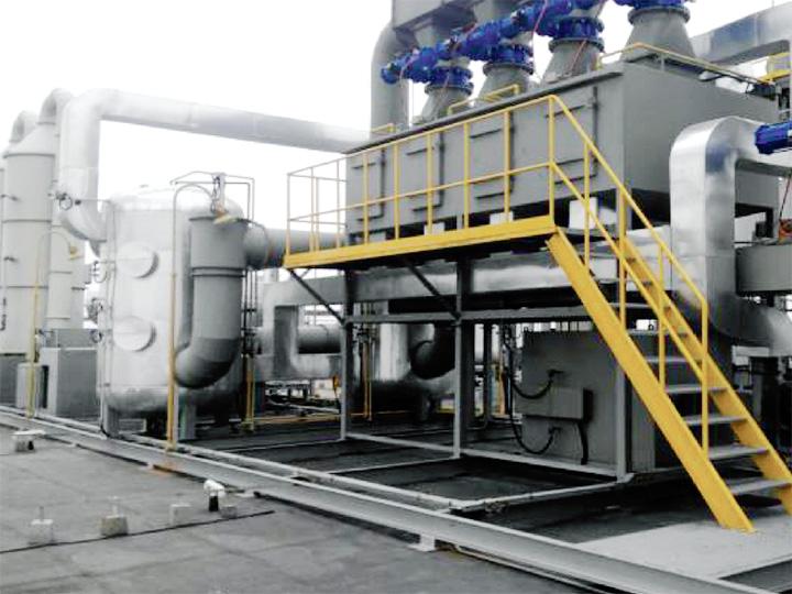 科莱恩化工(上海)有限公司 (化工有机废气处理项目)