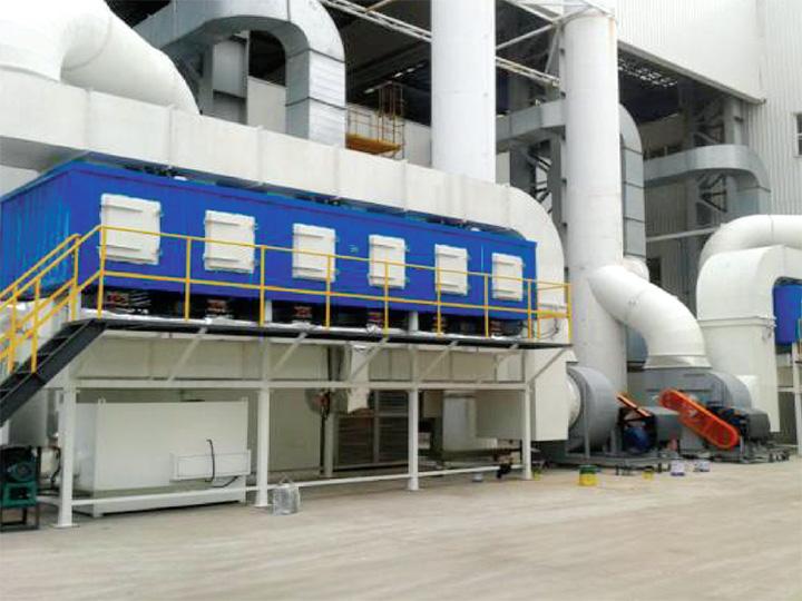 上海蓝滨石化设备有限责任公司 (喷漆车间有机废气收集处理项目)