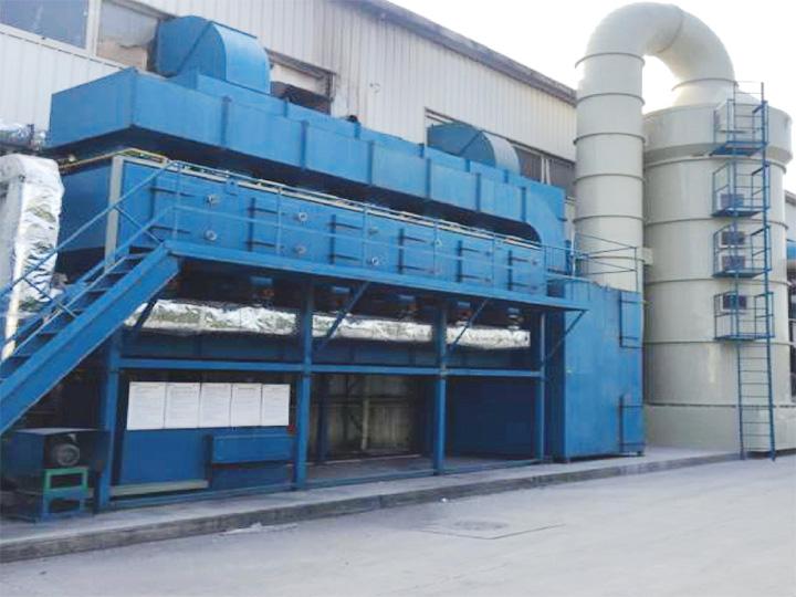 中德合资上海华德塑料制品有限公司 (自动化喷漆线有机废气处理项目)